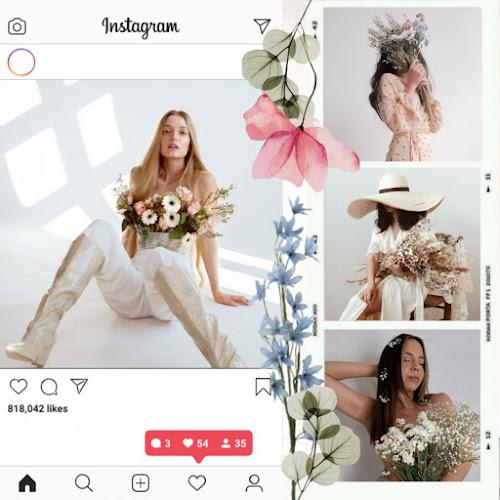 Fotografías con flores