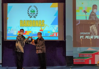 Load Factor Rata-rata 2021 Naik, PELNI Terima Penghargaan dari Kementerian Perhubungan