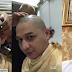 Akibat Sentilan Mendagri Tito Karnavian terkait Rambut Pirang, Akhirnya Pasha Ungu Mencukur Gundul Rambutnya.