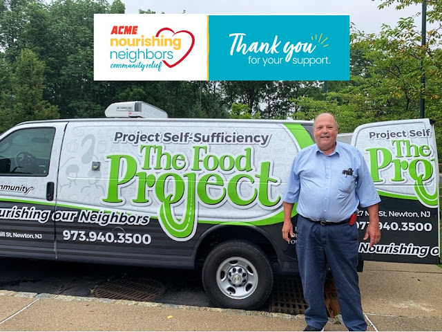 Donate to The Food Project at Project Self-Sufficiency and help feed hungry Sussex and Warren County NJ children and families.