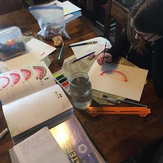 watercolor9 - Freeform Friday: Watercolor the Easy Way - Sara Berrenson + A GIVEAWAY