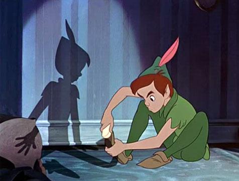 Peter Pan y su sombra - Cine de Escritor