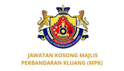 Jawatan Kosong Majlis Perbandaran Kluang 2019 (MPK)