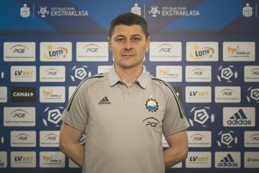 Jerzy Cyrak w Warcie Poznań | foto: Stal Mielec