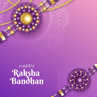 Raksha Bandhan Images: Happy Raksha Bandhan 2020 Wallpaper writing the feelings