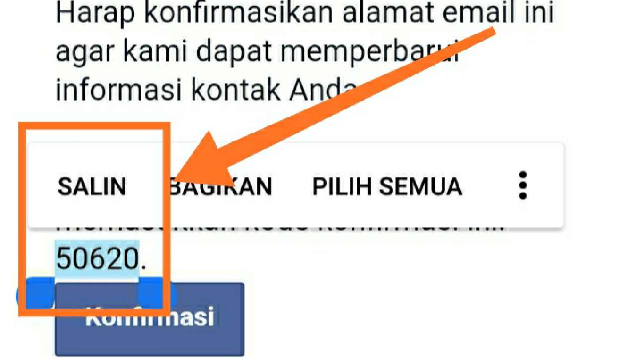 Cara membuka email Facebook di Gmail