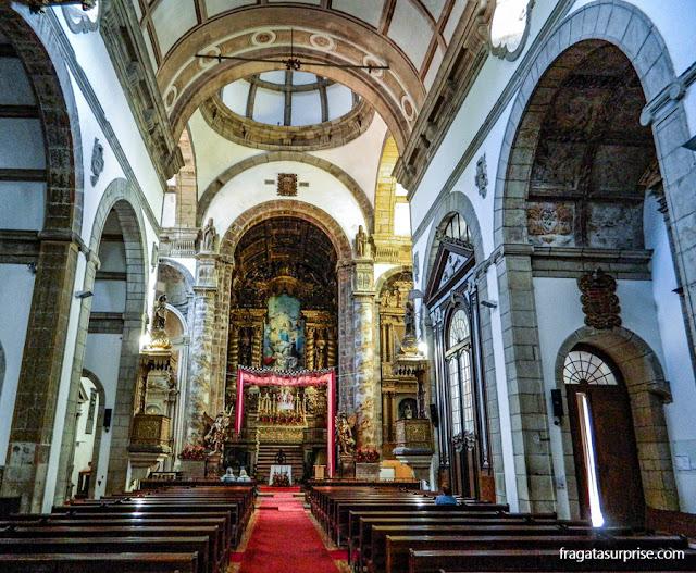 Igreja de São Gonçalo, Amarante, ornamentada para a festa do padroeiro