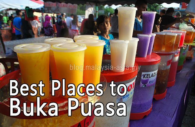 Best or Good Place to Buka Puasa in Malaysia