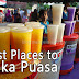 Best or Good Place to Buka Puasa