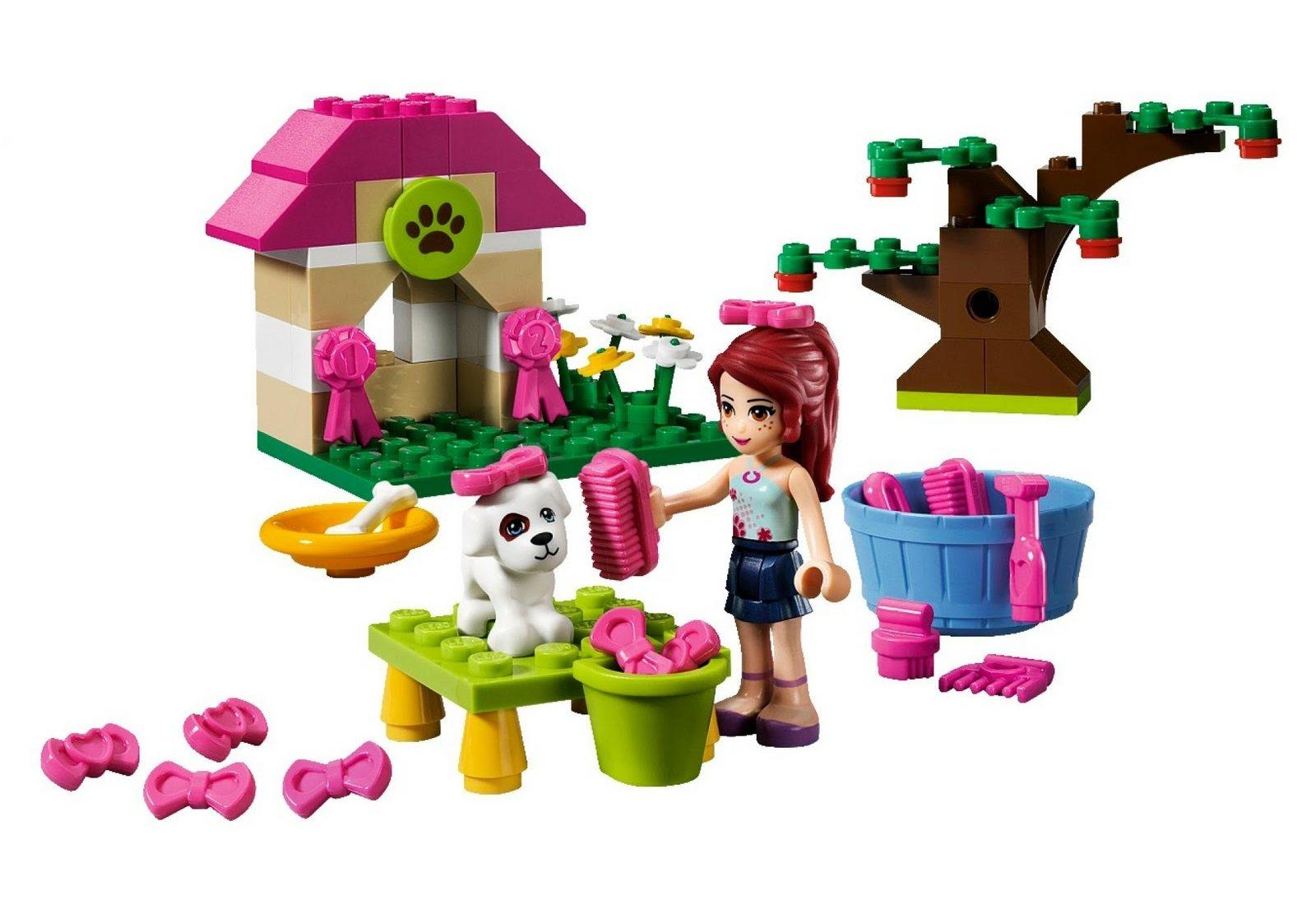 Brick Friends: LEGO 3934 Mia's Puppy House