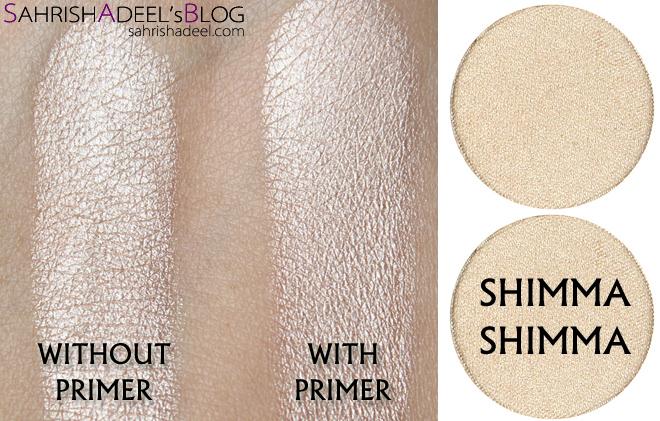 Makeup Geek Pressed Eyeshadows - Shimma Shimma