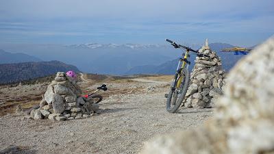 Mit dem Bike auf den Gipfel