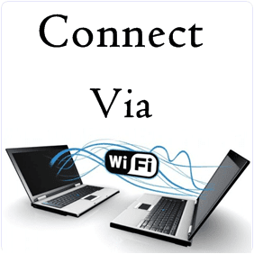 How To Transfer Data Or Connect Two Laptops Using WIFI