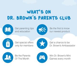 Dr. Browns Parents Club