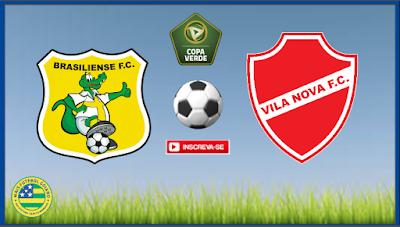 """""""Cansado"""" Vila Nova tenta reverter vantagem do Brasiliense e chegar a final da Copa Verde"""