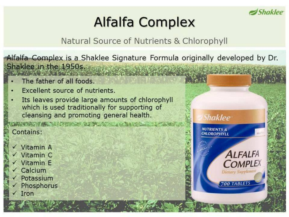The Father Of All Foods - ALFALFA