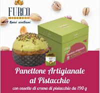 Furco Biscotti : vinci gratis Panettone artigianale e vasetto di crema al pistacchio