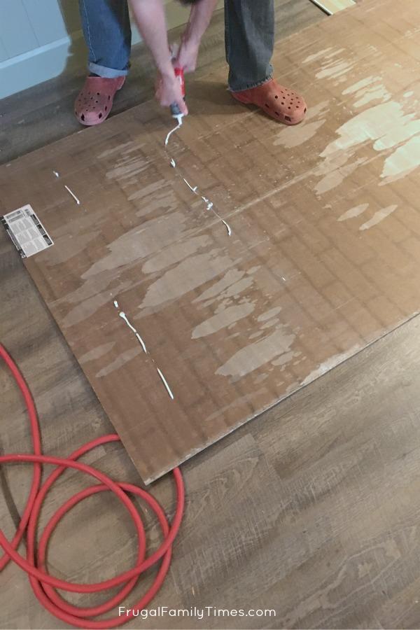 faux bricks panels install