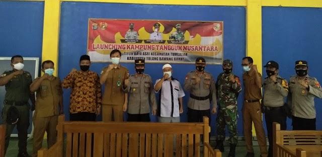 Desa Daya Asri Kec.Tumijajar Diresmikan Menjadi Kampung Tangguh Nusantara