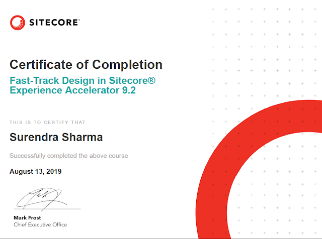 Fast-Track Design in Sitecore® Experience Accelerator 9.2