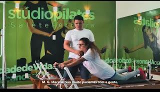 Studio de Pilates Salete Ferreira em GBA, vem garantindo qualidade de vida para usuários de Guarabira