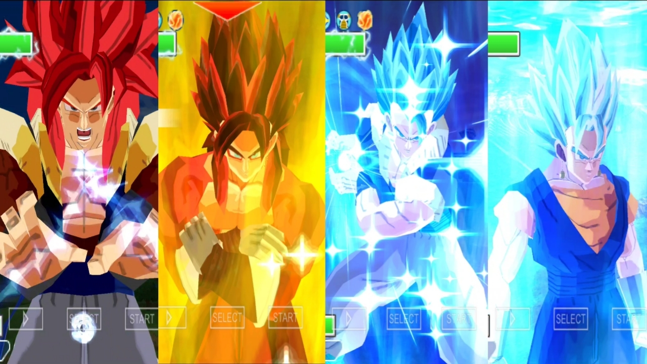 Gogeta Vs Vegito Dragon Ball