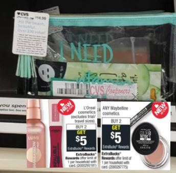 FREE Maybelline & L'Oreal at CVS - 7/14-7/20