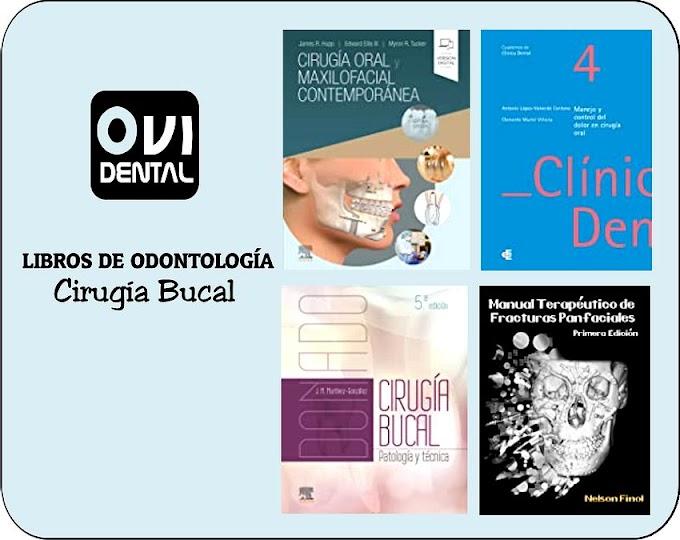 LIBROS DE ODONTOLOGÍA: 7 libros de Cirugía Bucal y Maxilofacial que todo especialista debe leer