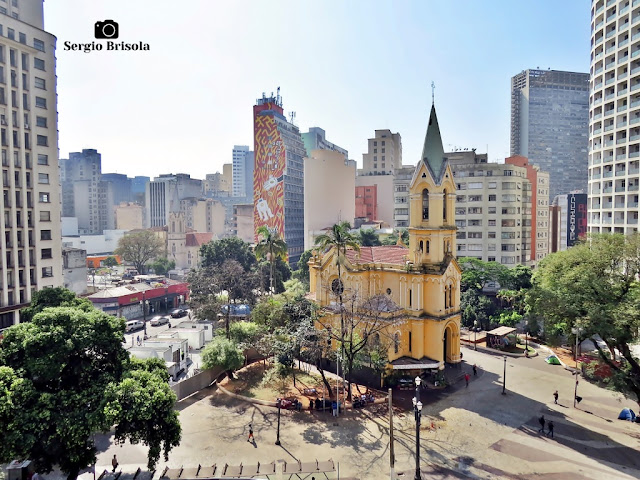 Cityscape da região do Largo do Paiçandu - República - São Paulo