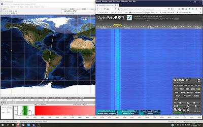 Telemetrie ontvangst JY1sat / JO-97 PA3GNZ