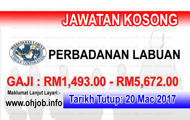 Jawtan Kerja Kosong PL - Perbadanan Labuan logo www.ohjob.info mac 2017