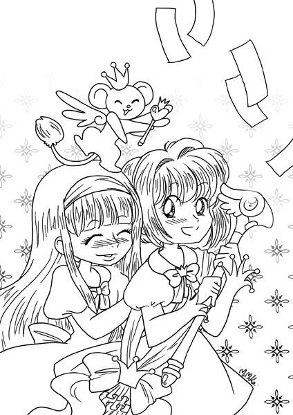 Mimika 39 z blog magical girls - Coloriage chocola et vanilla ...
