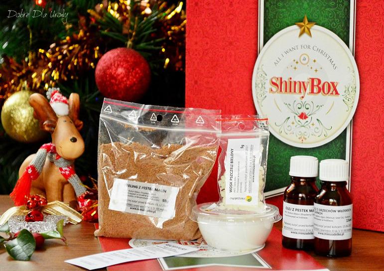 All I want for Chistmas is ShinyBox - Mieszadełko Zestaw składników do wykonania kosmetyków
