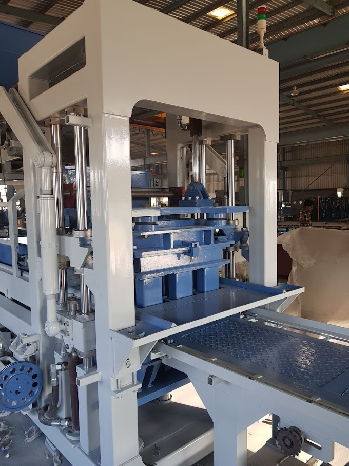 New concrete block making machine - ANECO