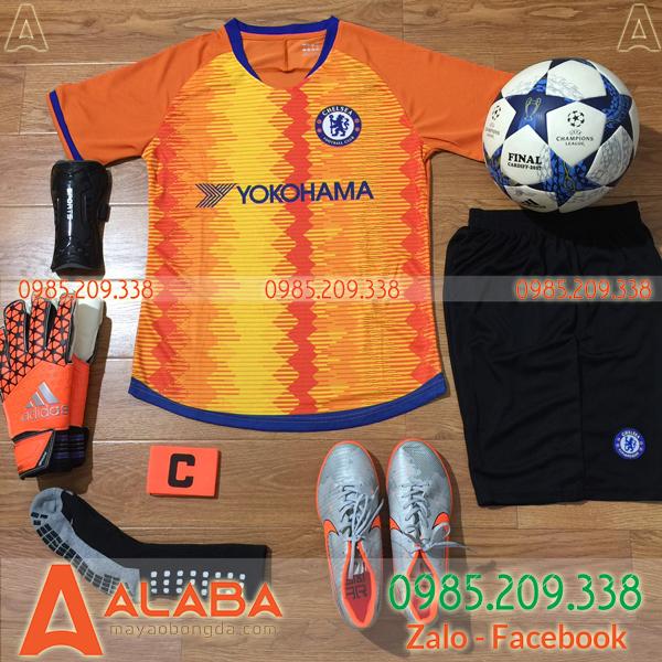Áo bóng đá CLB Chelsea 2019 màu cam