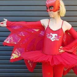 pj mask wings dessup costume DIY tutorial