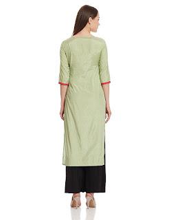Rs. 1699 Green W Woman Kurta by FashionDiya