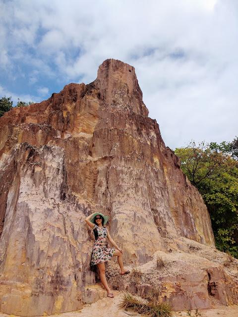 Pedra no Canyon de Coqueirinho.