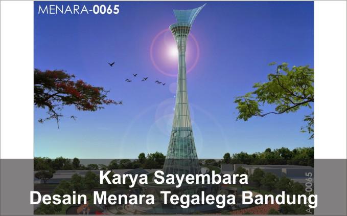 desain menara tegalega bandung