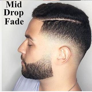 Gaya rambut medium fade