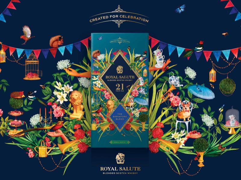 Royal Salute: 21 YO All Year Round Celebration Edition