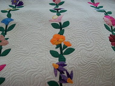 McTavished Applique quilt