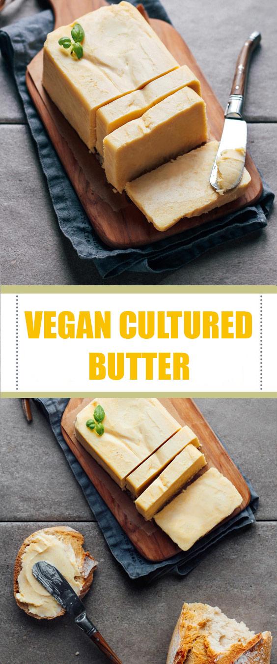 Vegan Cultured Butter