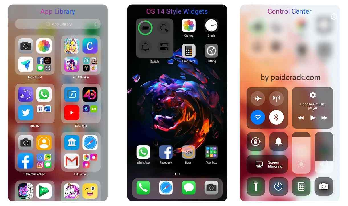 iOS 14 Launcher Premium Mod Apk 2.2