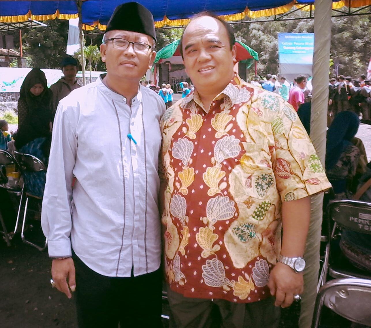 Travelplusindonesia Istiqosah Buka Festival Gebyar Pesona Wisata Gelang Event Konser Running Air Kepala Dinas Pariwisata Kabupaten Tasikmalaya Nazmudin Aziz Kepada Mengatakan Gunung Galunggung Ini