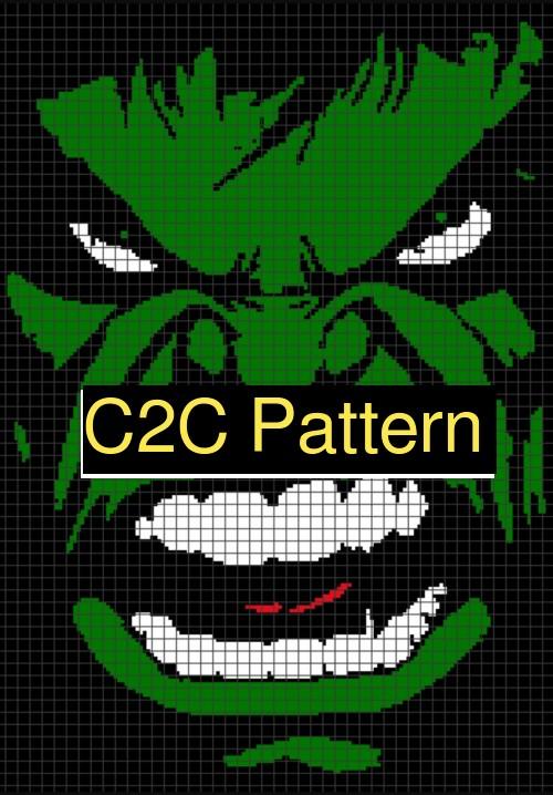 HULK S.M.A.S.H C2C Pattern