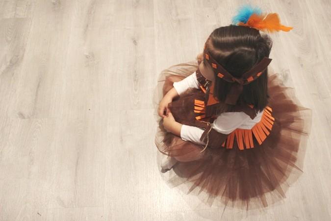 Disfraz de india casero para nia La agenda de mam Blog de
