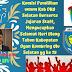 Komisi Pemilihan Umum kab Oku Selatan  berserta jajaran staff, mengucapkan selamat hari ulang tahun Kabupaten Ogan Kombring Ulu Selatan yg ke 15  ketua KPU  ADE P, MARTHABAYA SH