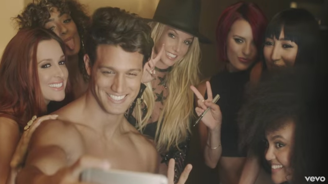 Britney Spears Premieres 'Make Me' Music Video