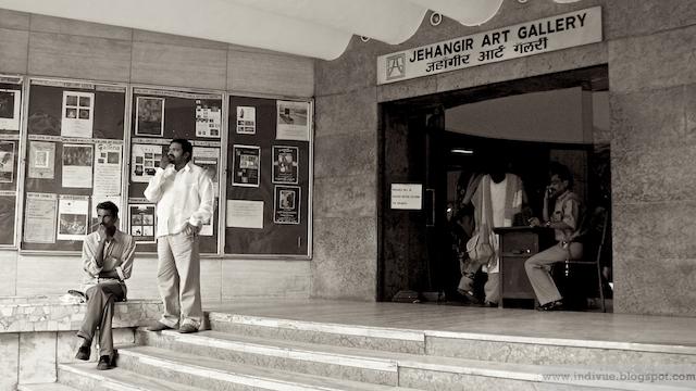 Jehangir Art Gallery Intian Mumbaissa